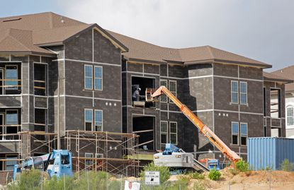 New residential and commercial construction contunies in Orlando and outpaces the rest of the US.