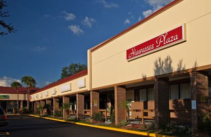 A partial view of the recently sold Hiawassee Plaza retail center at 6807 W. Colonial Dr.