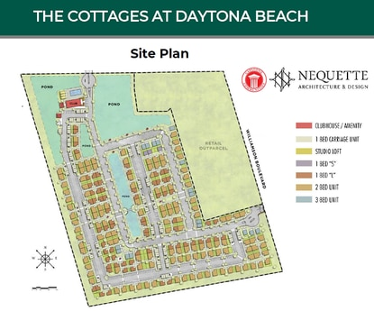 Capstone Communities broke ground last December on its first horizontal apartment community in Daytona Beach. The developer will start pre-leasing its cottages this summer.
