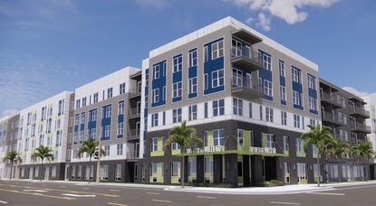 Trammell Crow Residential wants to build a 5-story apartment building on East Colonial Drive in downtown Orlando's Mills 50 neighborhood.