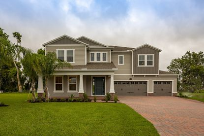 M/I Homes will offer its Grand Series, which offers 3-car garages and dual owner's suites, on the 80-foot lots in Tilden Place at Winter Garden.