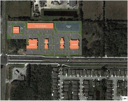 These 10.76 acres are located at the northeast corner of SR 46 and East Lake Mary Boulevard (SR 415) in Seminole County.  The property is zoned for up to 170,000 square feet of commercial space.
