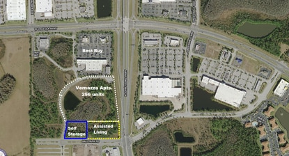 Morningstar Properties has purchased land in Tupperware's Osceola Corporate Center for a 100,000 SF self-storage facility.