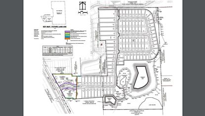 A Preliminary Development Plan for 67 acres in Apopka along Orange Blossom Trail, approved for 101 home lots and 3.5 acres of commercial.