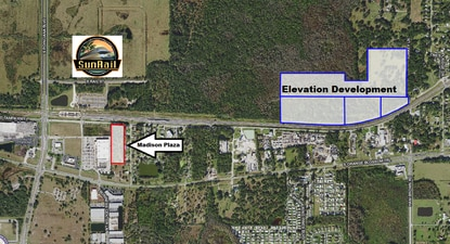 New development around the Poinciana SunRail station has lagged behind other stations, but two new developments could be in the pipeline.