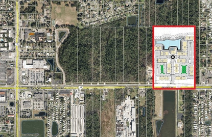 Aventon Companies will be building 348 apartments on 24 acres on Hoffner Avenue in Orlando's Conway neighborhood.