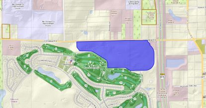 Builder DR Horton has filed plans with Orange County seeking approval for 208 homes bordering State Road 429 and Zellwood Station Country Club near Apopka.