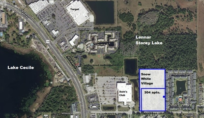 The Jaymor Group is ready to start construction on a 304-unit apartment complex in Kissimmee's tourism corridor.