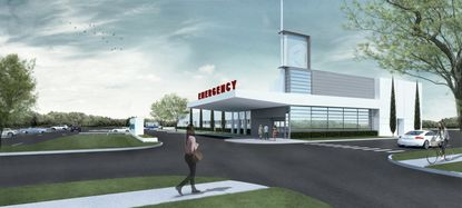 The Lake Mary Emergency department will open next year and anticipates brisk business.