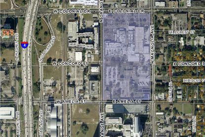 The Orlando Sentinel's location has a plan for redevelopment
