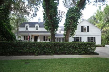 A view of the recently sold home on Alabama Drive in Winter Park.