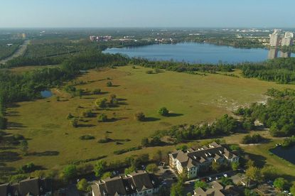 The owners of 172 acres of lakefront property near Disney are putting it on the market priced at $87 million.