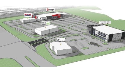 Pinstripes Bistro, Bowling and Bocce will occupy 21,000 square feet in Phase 2 of Vineland Pointe, where Walk-Ons and Chick-fil-A are under construction. Shake Shack is in permitting for its first drive-through location.