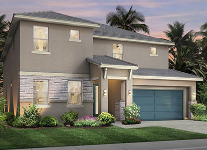 This 8-bedroom, 6-bath Santa Barbara model is the best seller in Park Square Home's BellaVida Resort.