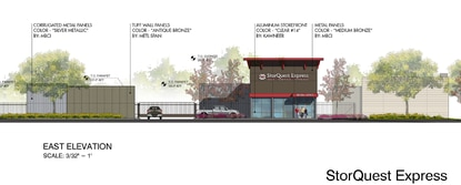 The one-story self-storage facility would have 67,000 square feet.