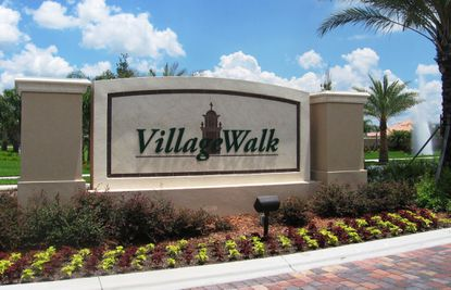VillageWalk, one of Pulte's three residential projects in the Lake Nona area