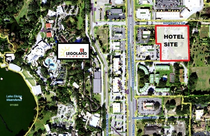 An Alabama hotelier has filed plans for a Best Western Plus hotel within walking distance of Legoland Florida in Winter Haven.