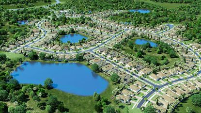 Homebuilder D.R. Horton announced the launch of Palms at Serenoa, a 550-home active adult community in Clermont.