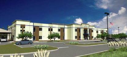 A rendering of the new charter school planned for Ocoee.