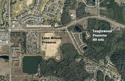 Clearwater developer Mike Galvin is seeking plat approval for an 89-lot subdivision in the Four Corners area, just south of Reunion Resort.