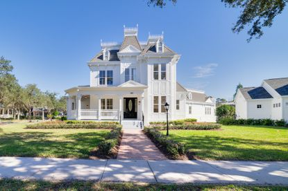 This Victorian-style estate home in Celebration recently sold for $2.5 million.