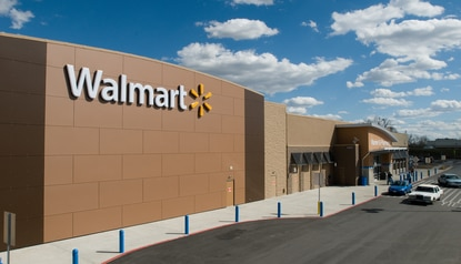 A rendering of a Walmart Supercenter. The one in Kissimmee is slated for a renovation.