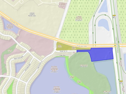 East Park developer D.R. Horton has filed a master plan calling for a nearly 50,000-square-foot headquarters building at the Dowden Road - S.R. 417 interchange.