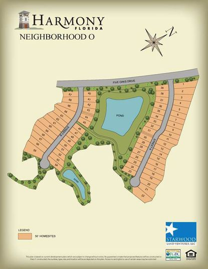 Meritage Homes has purchased 67 lots in Osceola County's Harmony community from master developer, Starwood Land Ventures.