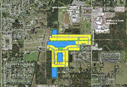 American Homes 4 Rent just paid $5.77 million for the 222 lots in the future Sky Lakes subdivision on St. Cloud's Michigan Avenue.