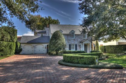 The home recently bought by Judi Holler in Winter Park.