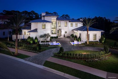 A rendering of a prototypical home within the luxury Carmel community.