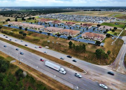The same buyer completed this medical office park in Haines City in 2016.