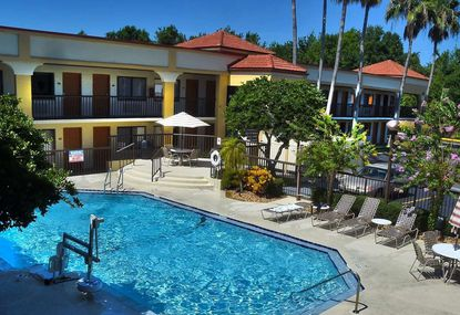 A view of the pool area at the 118-key Best Western East Orlando Inn & Suites, which sold within the past week.