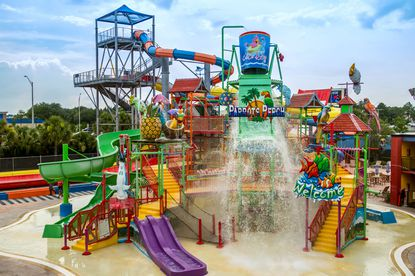 A photo of the water park at the Coco Key Hotel and Water Resort at 7400 International Drive