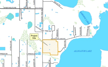 Osceola County Commissioners dropped their effort to block a 543-home boating community on Alligator Lake after the developer filed sued the county.
