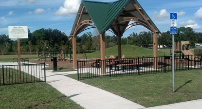 A view of Reiter Park in Longwood.