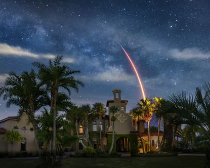 The sale came after an extensive marketing push which included hiring a photographer who specializes in rocket launches to photograph the property during a recent launch from Cape Canaveral.