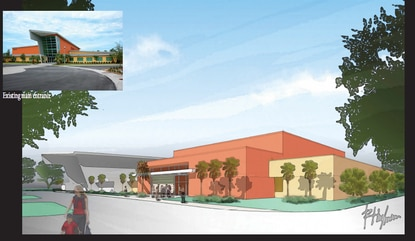 The Jack and Lee Rosen Jewish Community Center is adding an auditorium and theater as part of a major expansion.