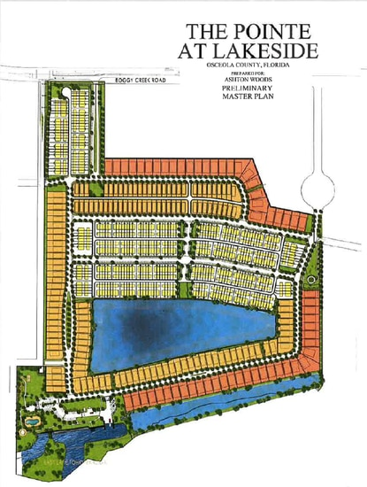 Osceola County planners recommended denial for this proposed 494-home subdivision on Boggy Creek Road, which included a mix of single family homes and townhomes with a public marina on East Lake Tohopekaliga.