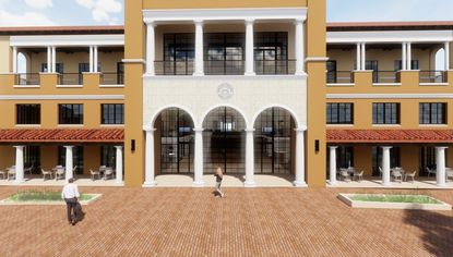 Rollins pursues permits for renovation & expansion of central campus bldg
