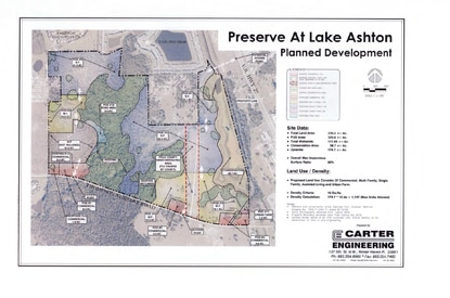 The City of Winter Haven will consider a mixed-use development called Preserve at Lake Ashton, which is east of Lake Ashland and south of Carlton Arms Apartments.