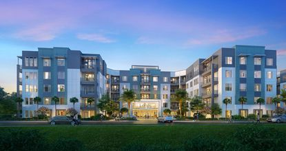 Futura @ Nona Cove will feature 260 apartments ranging from 623 square feet to 1,315 square feet.