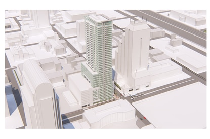 New downtown tower next to Orange County Courthouse would be city's tallest