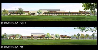 An elevation of the proposed Certus Memory Care facility in Dr. Phillips.