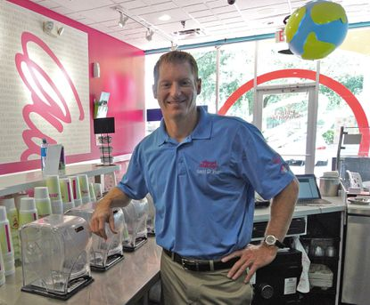 Jason Mann has helped make the Orlando area the nation's Planet Smoothie capital.