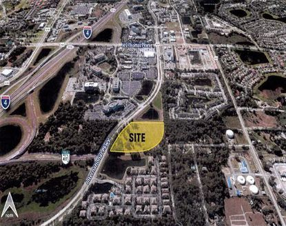 'Allure on the Parkway' would be a 12.2 acre mixed-use development in Lake Mary, along International Parkway.
