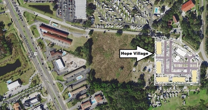 The non-profit Community Hope Center wants to build a 225-unit affordable housing community on Old Vineland Road in the W192 tourism corridor.