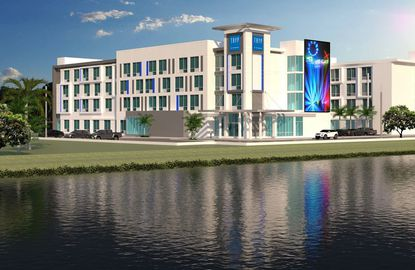 Riviera Point Development Group, which is currently building this TRYP by Wyndham hotel on International Drive, wants to team up with Osceola County to develop new hotels at Heritage Park and NeoCity.