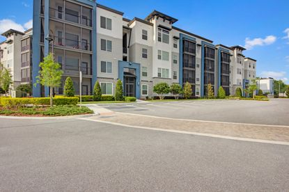 The 244-unit Courtney At Lake Shadow apartment complex at 545 S. Keller Road.