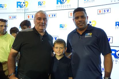 Feltrim Group CEO Gary Kenny and Brazilian soccer legend Ronaldo are bringing a Ronaldo R9 Soccer Academy franchise to Polk County.